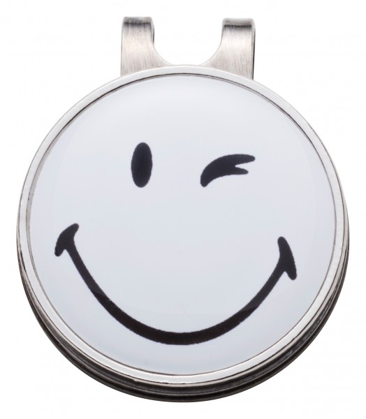 Hat-Clip Smiley zwinkern in Box
