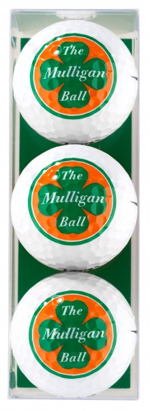 The Mulligan Ball - 3 Golfbälle