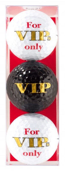 For VIPs Only - 3 Golfbälle